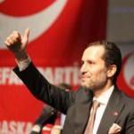Yeniden Refah lideri Fatih Erbakan'dan '1 Mayıs' mesajı