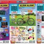 10 Mayıs A101 Aktüel Kataloğu! Bisiklet, beyaz eşya, elektronik, züccaciye ve mobilya ürünlerinde