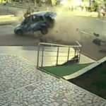 Antalya'daki feci kaza kamerada!