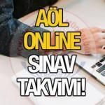 AÖL 3. dönem sınavları ne zaman yapılacak? MEB 2021 AÖL online sınav takvimi!