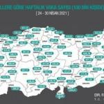 Bakan Koca yeni haritayı paylaştı! İstanbul'da büyük değişim! İl il son durum...