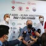 Bakan Varank gönüllü olduğu VLP aşısının ikinci dozunu yaptırdı