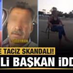 Canlı yayında iğrenç taciz iddiası! CHP'li başkan...