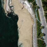 Fenerbahçe Sahili'nde deniz salyası artışı