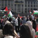 İsrail'in Mescid-i Aksa'daki saldırıları Hollanda'da protesto edildi
