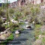 """""""Kapadokya'nın incisi Ihlara Vadisi"""" turistlere kaldı"""
