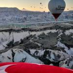 Kapadokya'yı nisanda 74 bin turist ziyaret etti