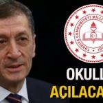 MEB 2021 okullar ne zaman açılacak? Bakan Selçuk  açıkladı! Tam kapanmanın ardından...