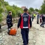Sulama kanalına düşen traktörün sürücüsü hayatını kaybetti