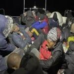 Yunanistan'ın geri ittiği 30 göçmen kurtarıldı