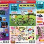 A101 12 Mayıs Aktüel Kataloğu! Bisiklet, elektronik, beyaz eşya, züccaciye ve mobilya ürünlerinde