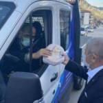 Amasya Belediyesi vatandaşlara ramazanın her günü 3 bin pide dağıtıyor