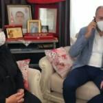 Bakan Gül, şehit ailesini Cumhurbaşkanı Erdoğan ile telefonla görüştürdü