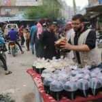 Bayram hazırlıklarıyla birlikte İdlib sokakları canlandı