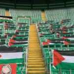 Celtic taraftarlarından Filistin bayraklarını kaldıran yönetime tepki!