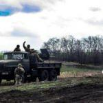 Donbas'ta 1 Ukrayna askeri öldü