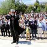 Filistin'de hayatını kaybedenler için cenaze namazı kılındı