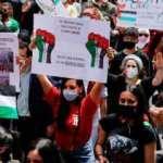 İspanya'da 20'den fazla kentte Filistin için yürüdüler