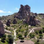 Kapadokya'da bahar güzelliği