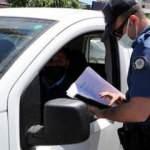 Keşan'da sürücüler denetlendi, 'e-Devlet izin belgesi' hatırlatıldı