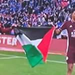 Leicester City oyuncuları Filistin bayrağı açtı!