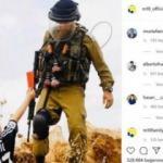Mesut Özil formalı çocuktan zalim İsrail'e kırmızı kart