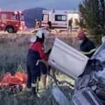 Yozgat'ta otomobil devrildi: 1 ölü 3 yaralı
