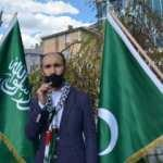 Sarıkamış'tan İsrail'e lanet, Filistin'e destek