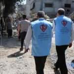 Türkiye Diyanet Vakfı Filistin'de yaraları sarıyor