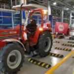 Türkiye'den Gine'ye traktör ihracı