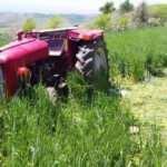 Yaşlı adam traktör kazasında hayatını kaybetti