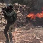 İşgalci İsrail polisi yine Şeyh Cerrah Mahallesi'nde Filistinlilere saldırdı