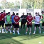 A Milli Futbol Takımı, Almanya'daki hazırlıklarını sürdürdü