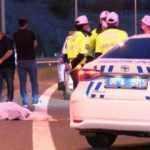 Ankara'da devrilen motosikletteki 2 kişi öldü