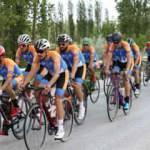 Ankara'dan Samsun'a Türk bayrağı taşıyan AFAD gönüllüsü bisikletçiler Çorum'a ulaştı