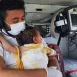 Bir yaşındaki bebeğin görüntüsü yürek ısıttı