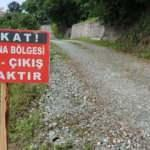 """Burdur'da bir köye """"koronavirüs"""" karantinası"""