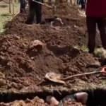 'Hızlı mezar kazma' yarışmasına tepki yağdı