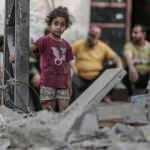 İşgalci İsrail saldırıları sonrası Gazze'de 250 bin kişi temiz suya erişemiyor