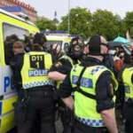 İsveç'te Filistin'e destek gösterisinde 15 gözaltı