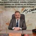 Kayseri OSB Başkanı Nursaçan'dan 19 Mayıs mesajı
