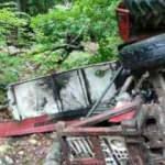 Kontrolden çıkan traktör devrildi: 1 ölü