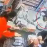 Markette kadına dehşeti yaşattı! Kimse durdurmadı