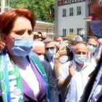 Meral Akşener'e vatandaştan HDP ile ittifak tepkisi! Rize ziyaretinde arbede çıktı
