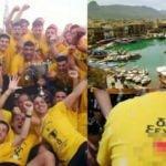 Güney Kıbrıs'ta alçak provokasyon!