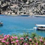 Ukraynalı turistler Muğla'ya hayran kaldı