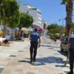 Bodrum'da plajlar yabancı turistlere kaldı