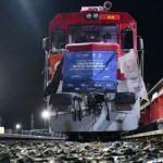Çin'e 6'ncı ve 7'nci ihracat treni yola çıktı