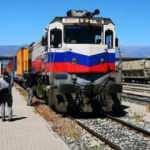 Çin'e gidecek ihracat treni Erzincan'a ulaştı