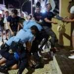Devler Ligi finalinin verildiği Porto'da sokaklar kana bulandı